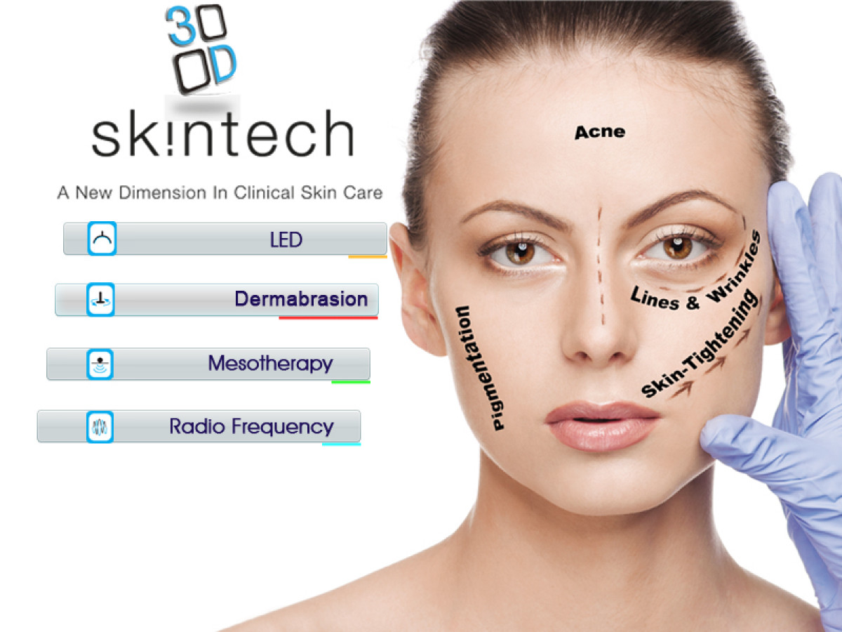 Microdermabrasion- Rotational Dimond Peel, Radio Frequency, Electromesotherapy (no Needle Mesotherapy), LED Light Therapy